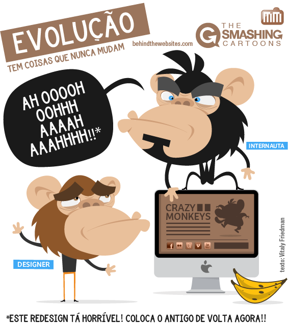 The Smashing Cartoons - Evolução