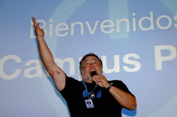 """Steve """"Woz"""" Wozniak na Campus Party"""