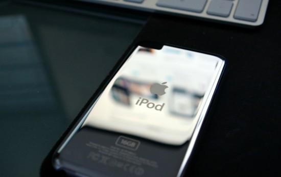 Traseira de iPod