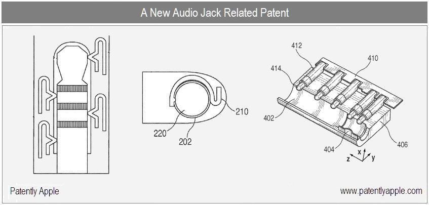Patente de conector de áudio