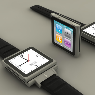 Optimus Time, pulseira para iPod nano