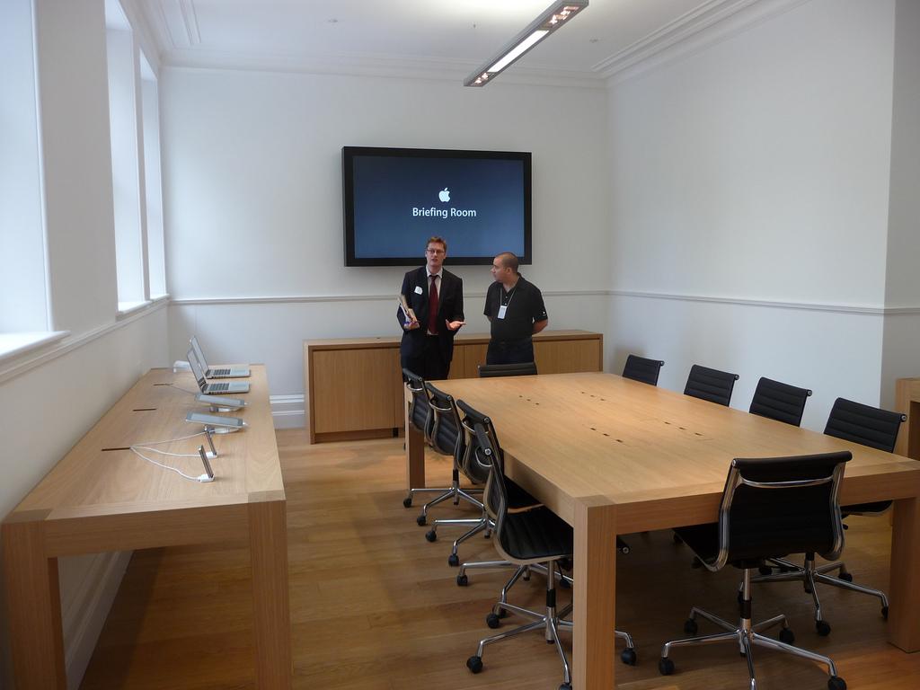 Briefing Room da Apple