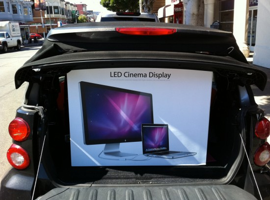 Novo LED Cinema Display de 27 polegadas
