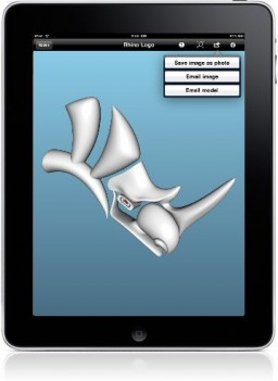 iRhino 3D num iPad