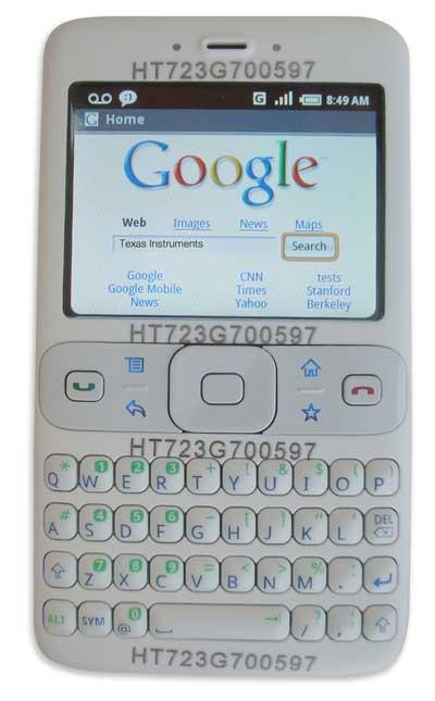 Protótipo de Android, pré-iPhone