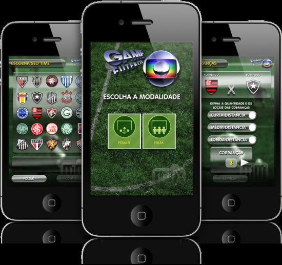 GameFutebol em iPhones