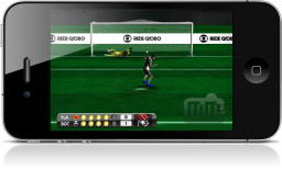 GameFutebol no iPhone