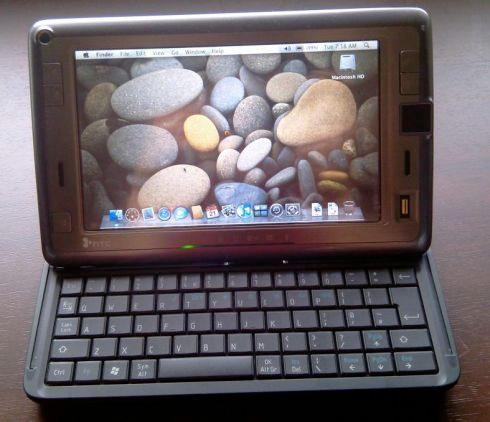 HTC Shift rodando o Mac OS X