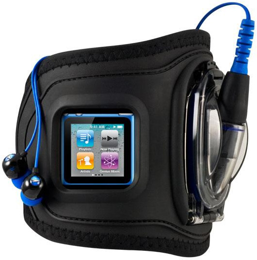 Amphibx GRIP com iPod nano 6G