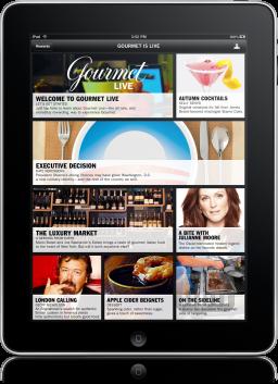 Gourmet Live no iPad