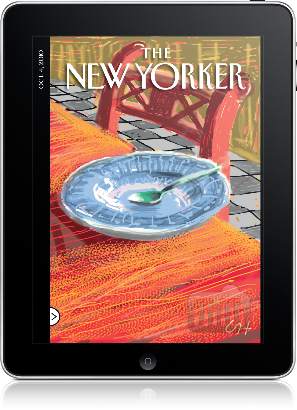 New Yorker no iPad