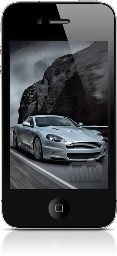 Aston Martin num iPhone