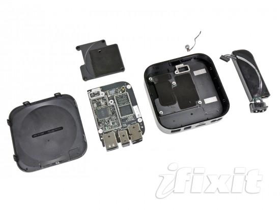 Apple TV desmontado pela iFixit