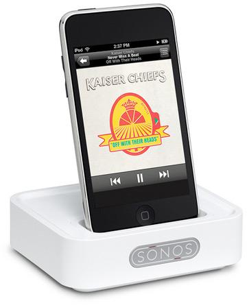 Sonos Wireless Dock com iPhone