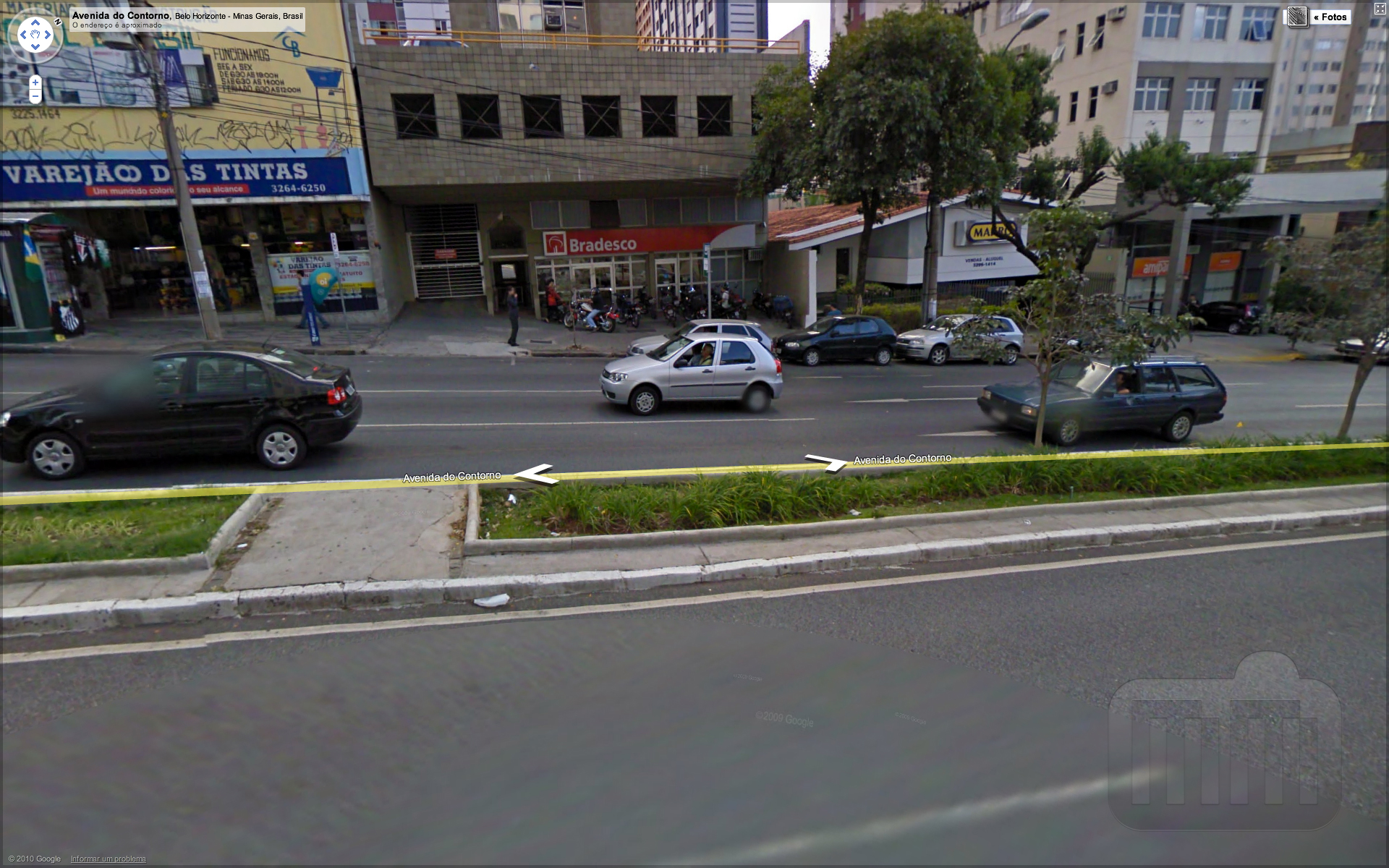 Agência do Bradesco no Google Street View