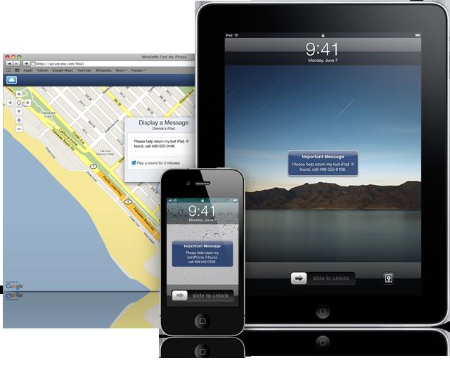 Find My iPhone no Mac, iPhone e iPad