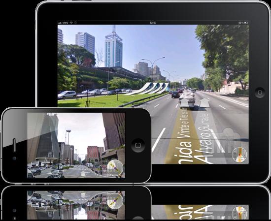 Google Street View Brasil no iPhone e no iPad