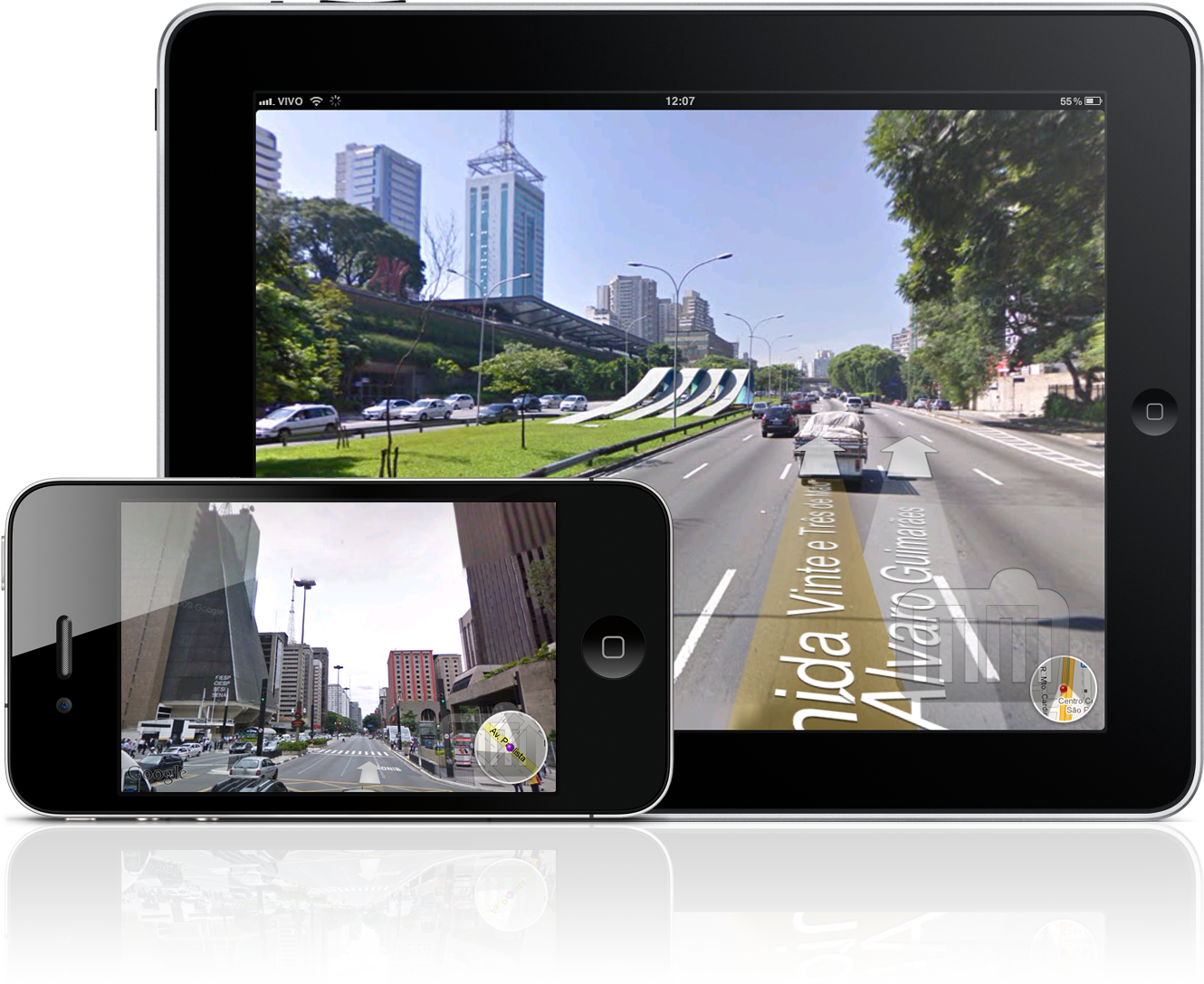 Google Street View Brasil no iPhone e no iPad