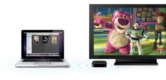 Streaming do iTunes para Apple TV