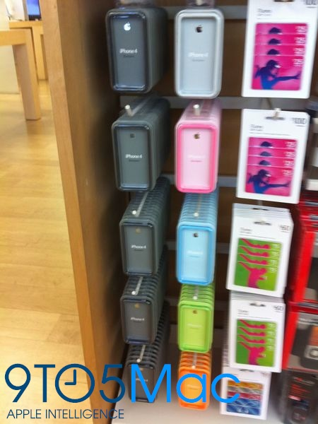 Bumpers em Apple Retail Store