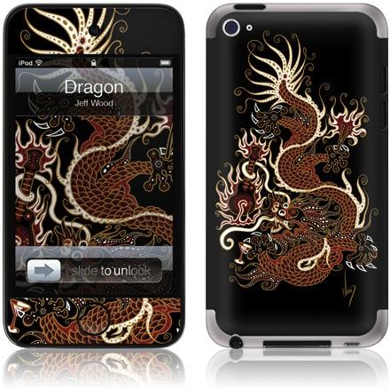 GelaSkin Dragon para iPod touch