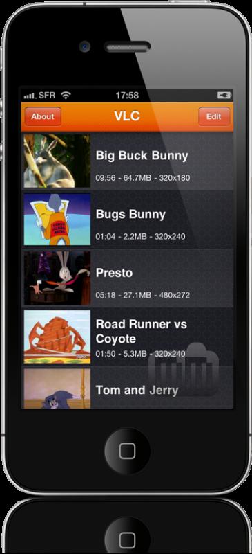 VLC no iPhone