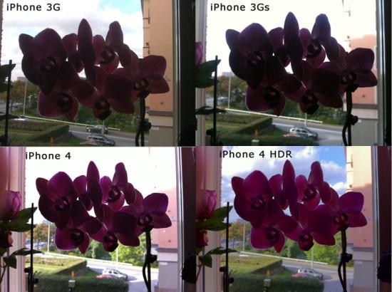 Comparação de câmeras de iPhones - fosfor.com