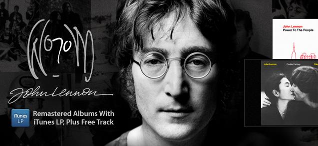 John Lennon na iTunes Store