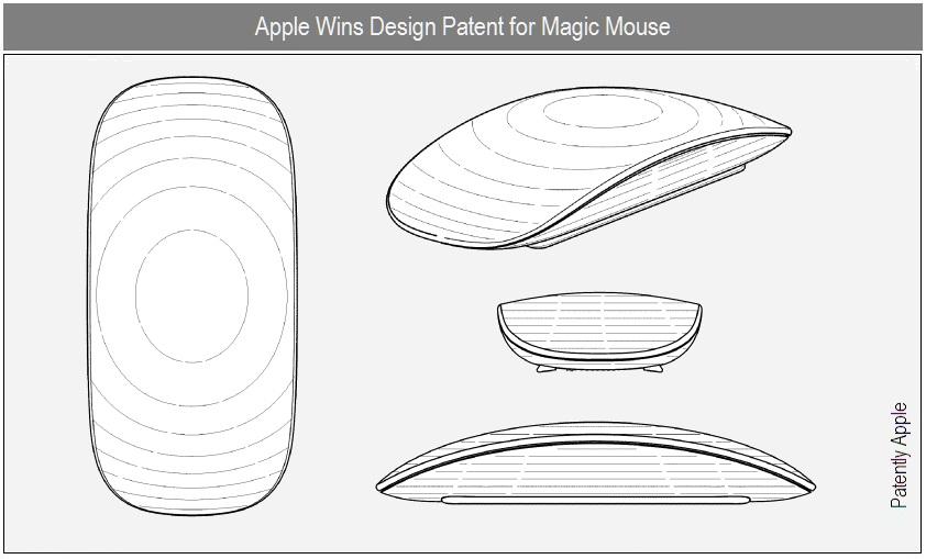 Patente de design do Magic Mouse