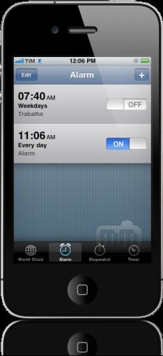 Bug do alarme no horário de verão no iPhone