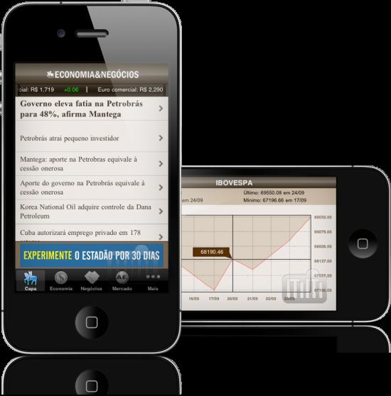 Estadão Economia & Negócios em iPhones