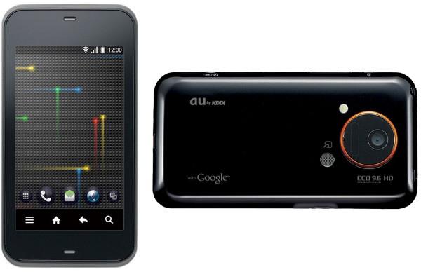 Smartphone da Sharp com Retina Display