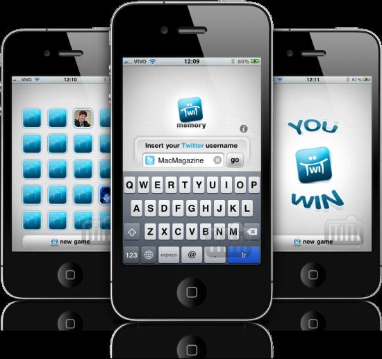 TwitMemory em iPhones