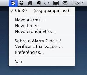 Alarme para Mac