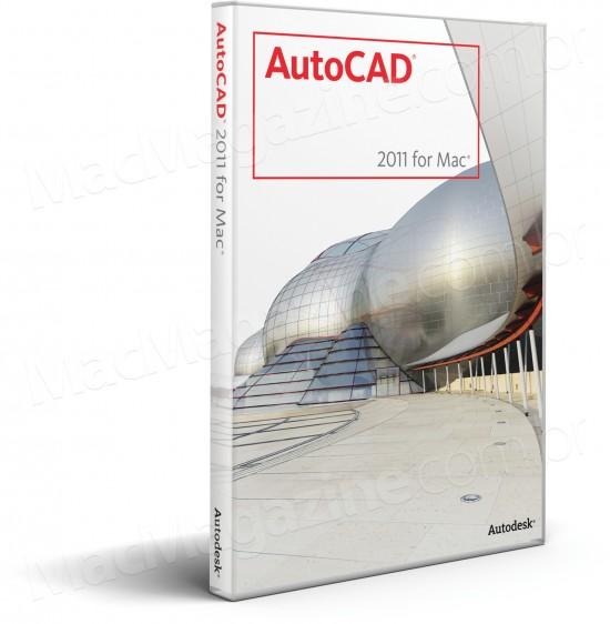 Caixa do AutoCAD 2011 para Mac