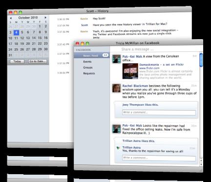 Beta do Trillian para Mac