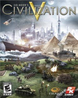 Caixa do Sid Meier's Civilization V