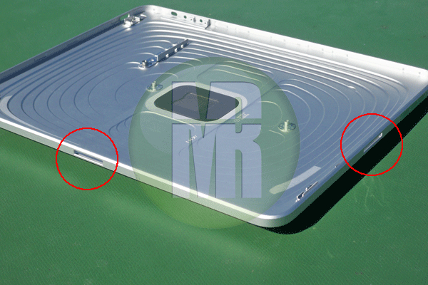 iPad com duas aberturas para dock - Mission Repair