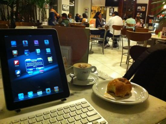 Everaldo Coelho no Frans Café
