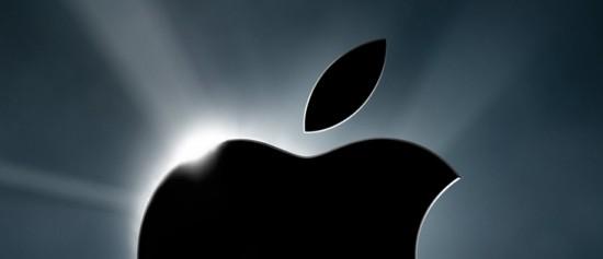 Meio logo da Apple
