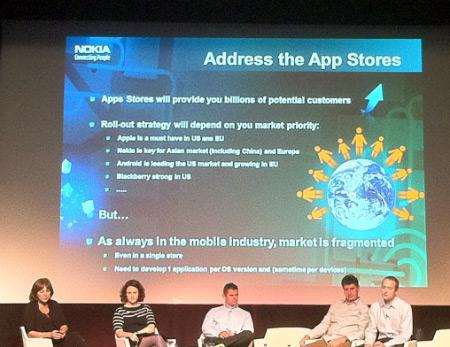 Nokia fala sobre App Store da Apple