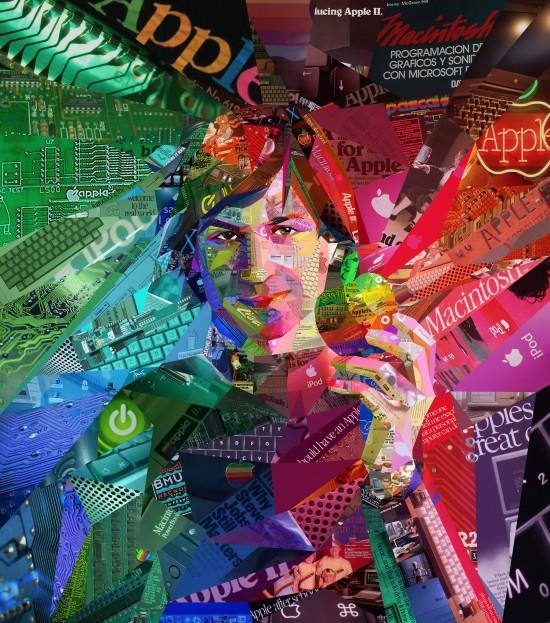 Steve Jobs psicodélico na ALFA