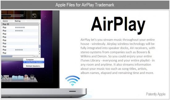 Registro da marca AirPlay