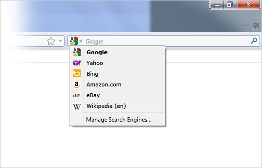 Bing no Firefox