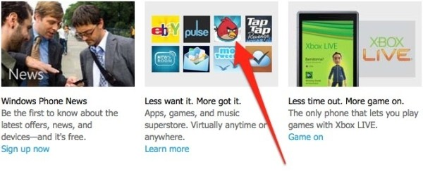 Angry Birds para Windows Phone 7?
