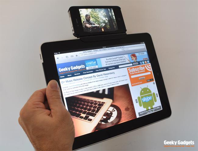 Dock de iPhone no iPad