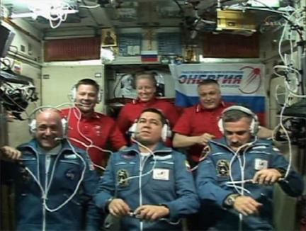 Tripulação da Estação Espacial