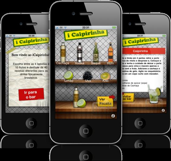 iCaipirinha Brasil em iPhones