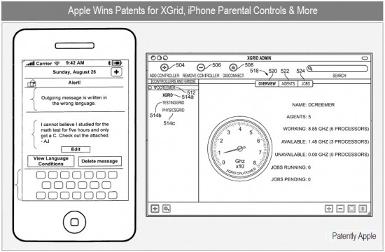 Patente de entrada de texto e XGrid - Patently Apple
