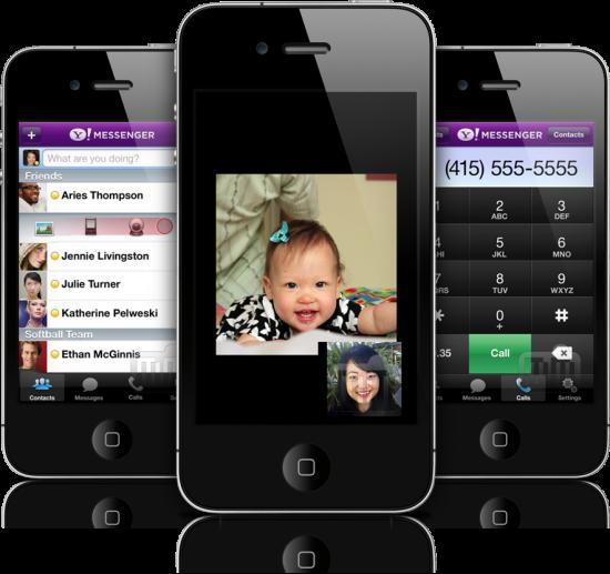 Yahoo! Messenger em iPhones